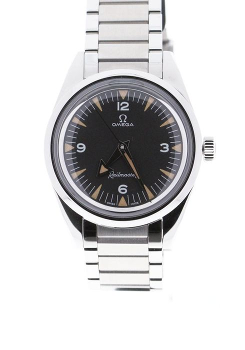 Omega - Railmaster Co-Axial Master Chronometer 38 mm Limited 60th Anniversary - 220.10.38.20.01.002 - Unisex - 2020