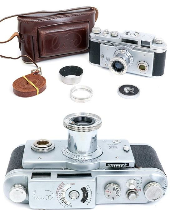 ISO Lux rangefinder italian camera made in Italy Leica copy #1165. VERY RARE.