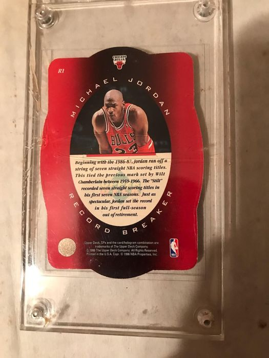 NBA Basketbal - Michael Jordan - Trading card