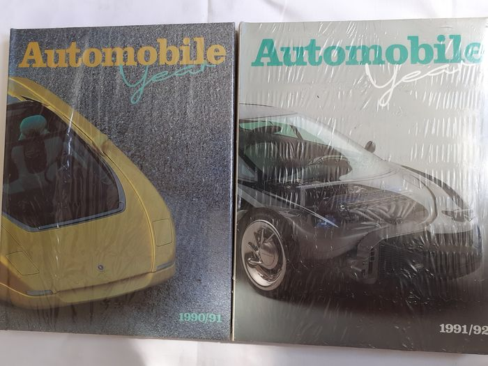 Books - Automobile Year 38 & 39 (1990/91 & 1991/92) - 1990-2000