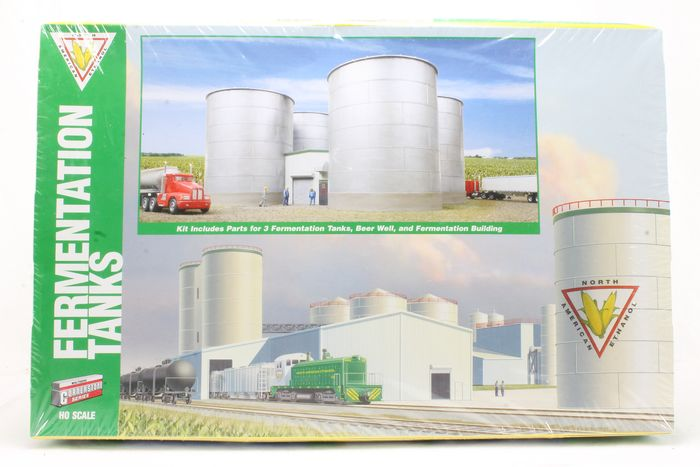 Walthers H0 - 933-2977 - Scenery - Fermentation Tanks