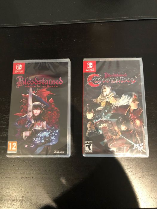 Switch Limited Run! Curse of The Moon! & Ritual of the Night - Video games