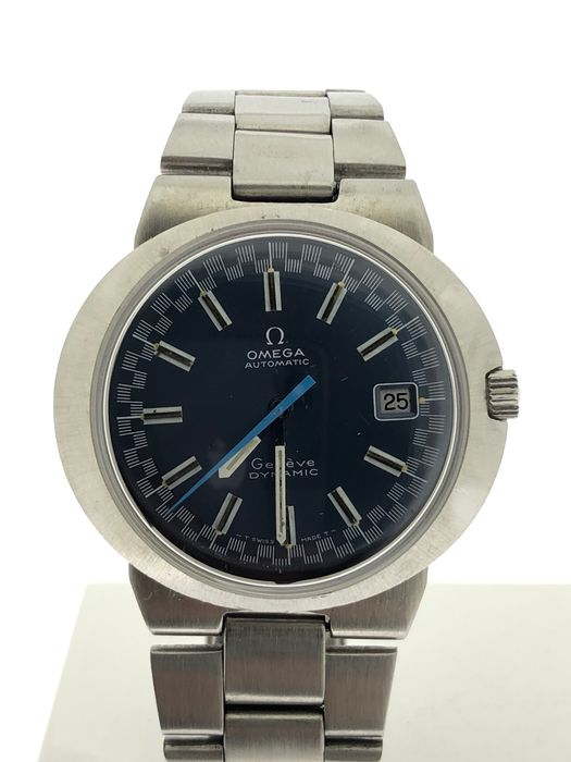 """Omega - Genève Dynamic - Shadow blue Racing dial - Automatic  - """"NO RESERVE PRICE"""" - Men - 1970-1979"""
