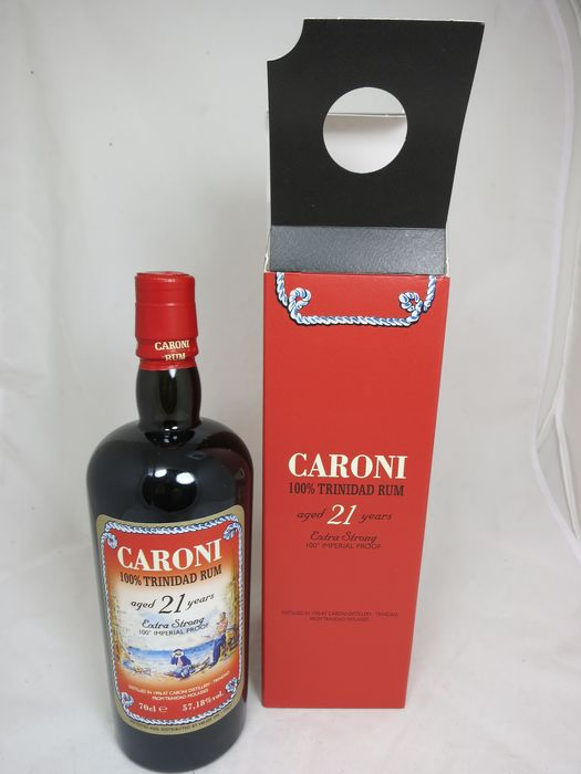 Caroni 1996 21 years old Velier - Extra Strong 100° Imperial Proof - b. 2017 - 70 cl