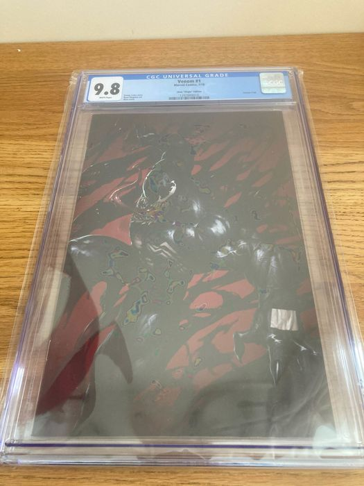 Venom 1 - Skan virgin variant CGC 9.8 white pages  - Agrafé - EO - (2018)