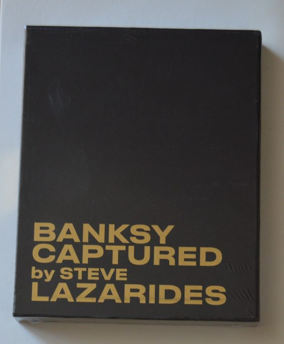 Banksy, Steve Lazarides - Banksy Captured [Deluxe Black Limited Edition] - 2020