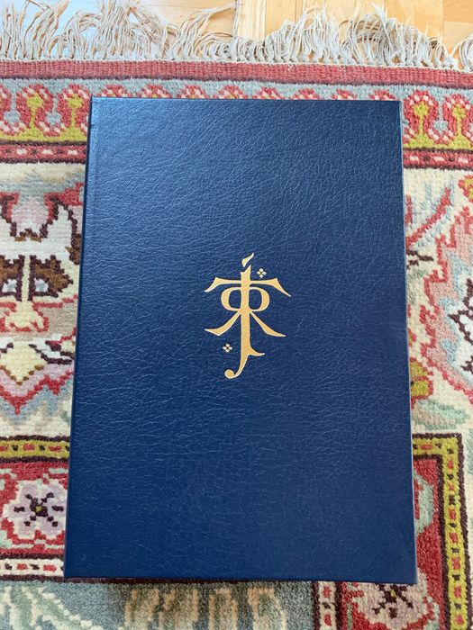 J.R.R. Tolkien - The Children of Hurin. Leather Signed Limited Edition - 2013