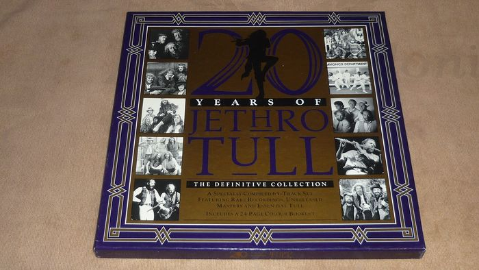 Jethro Tull - 5-LP Box Set - 20 Years Of Jethro Tull - The Definitive Collection - Booklet - UNPLAYED - Box set - 1988/1988