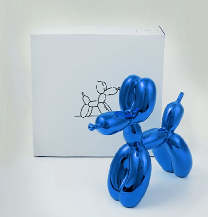 Jeff Koons (After) - Blue Balloon Dog