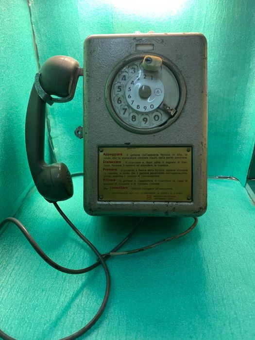 Telesip - Telephone with coin validator - Steel