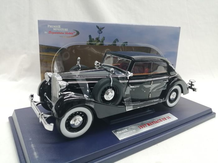 Premier Miniatures by Signature Models - 1:18 - Maybach SW38 1937 - Culoare Negru