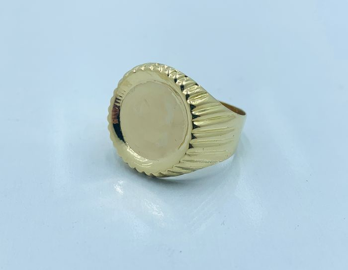 zegelring - 18 kt. Gold - Ring