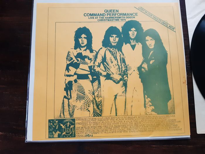 Queen - Command Performance - LP Album - 1976/1976