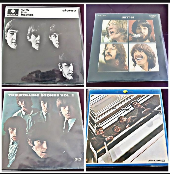 The beatles  - Multiple artists - Lite It BeWith the Beates The Rolling Stones The beatles - Multiple titles - Limited edition - 1963/1970