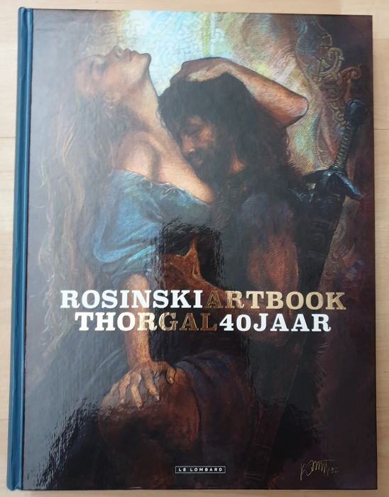 Thorgal - Rosinski Artbook - Thorgal 40 jaar - Hardcover - First edition - (2017)