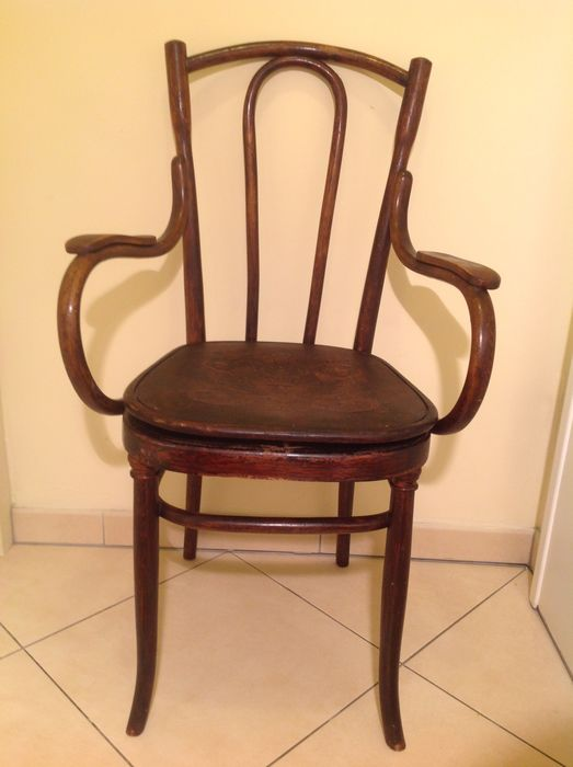 Thonet - An antique potty chair - Wood