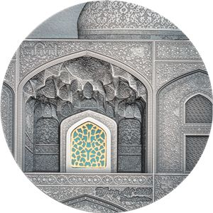 Palau. 10 Dollars 2020 Tiffany Art - Safavid - Antique Coin. FINAL EDITION - 2 Oz