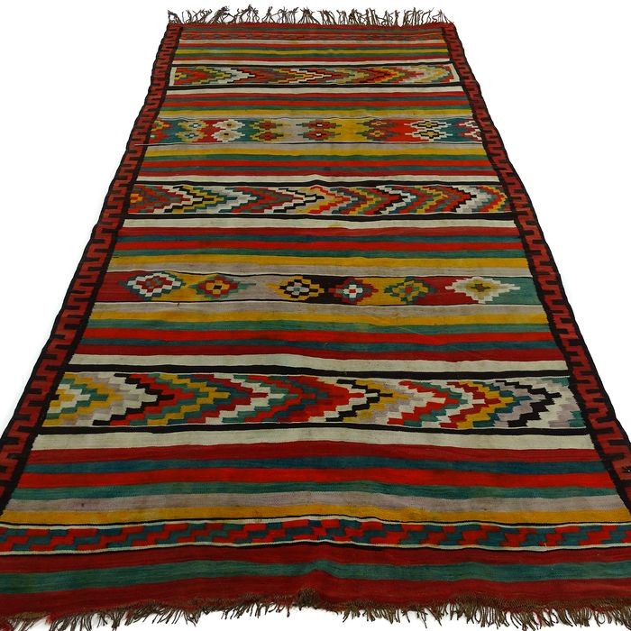 Kelim - Antique rug - 345 cm - 175 cm
