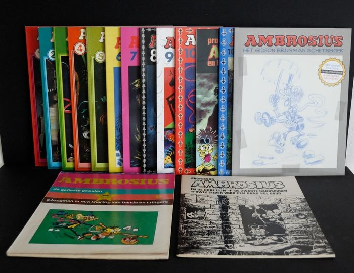 Ambrosius 1 t/m 10,5 + 4 andere uitgaven - Complete reeks - Softcover - First edition