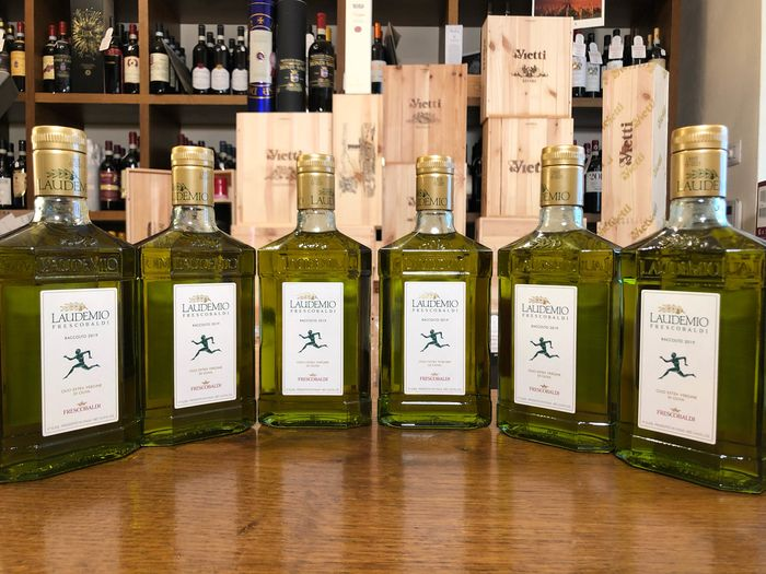 """Laudemio"" Frescobaldi - Extra virgin olive oil - 6 - 500ml"
