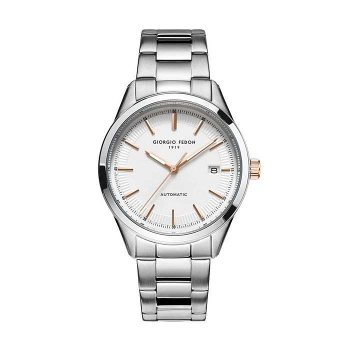 """Giorgio Fedon - Automatic PCA White Dial Stainless Steel Bracelet - GFCA009 """"NO RESERVE PRICE"""" - Hombre - 2011 - actualidad"""