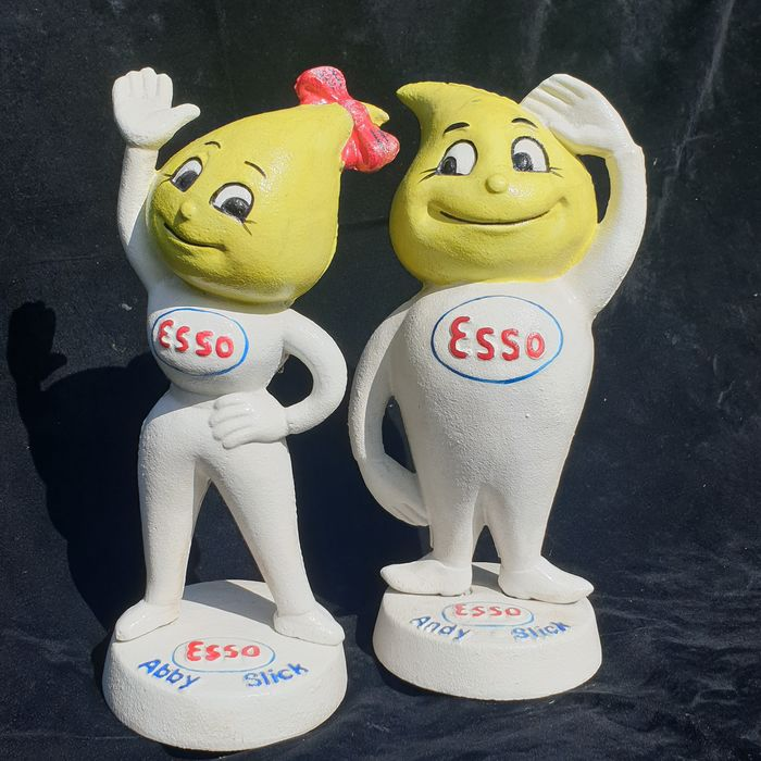 Decorative object - Andy and Abby Slick reclame - Esso