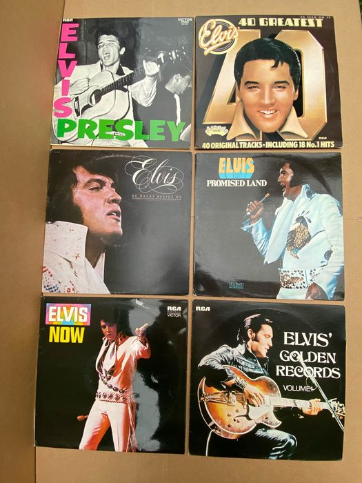 Elvis Presley - Records - Multiple titles - LP's - 1971/1977