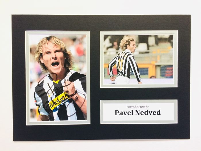 Juventus - Champions Football League - Pavel Nedved - Photograph