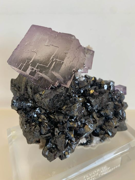 Fluorite Crystals on matrix - 10×7×10 cm - 400 g