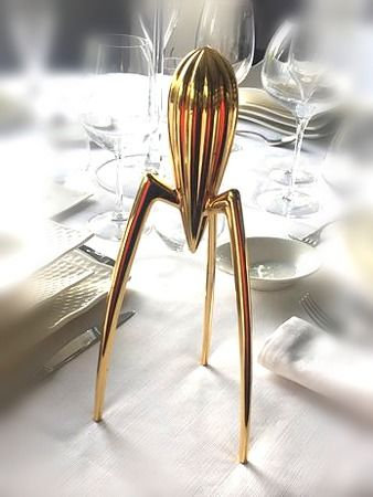 Philippe Starck - Alessi - Juicy Salif - Special anniversary gold edition