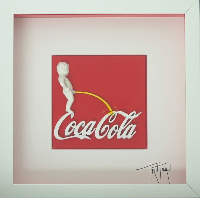 Truteau - The Manneken-Pis On Coca-cola (RED)