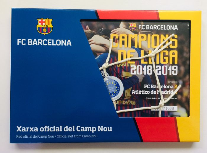 FC Barcelona - Spanish Football League - Official Net from Camp Nou