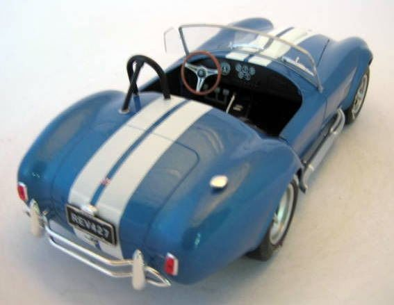 Image 3 of Solido - 1:18 - AC Cobra 427 MKII Metallic Blue1965 - Mint Boxed - Limited Edition