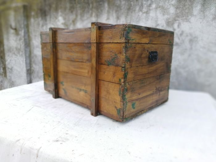 Travel trunk from the 1950s - Wood