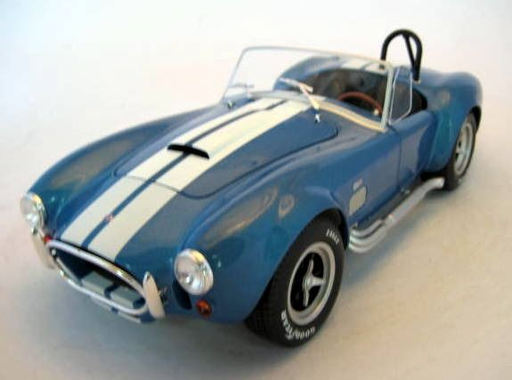 Image 2 of Solido - 1:18 - AC Cobra 427 MKII Metallic Blue1965 - Mint Boxed - Limited Edition