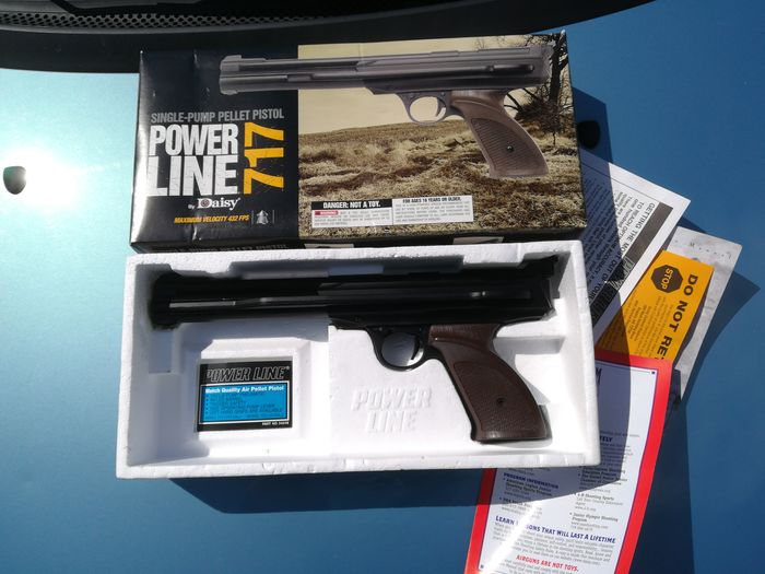 United States of America - Daisy - Power line 717 - Pca - Pistol - 4.5 Pellet Cal