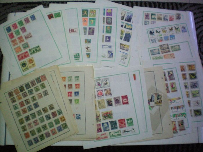 Cina - 1878-1949 1897/1965 - Chinese stamp collection from 1897 to 1965
