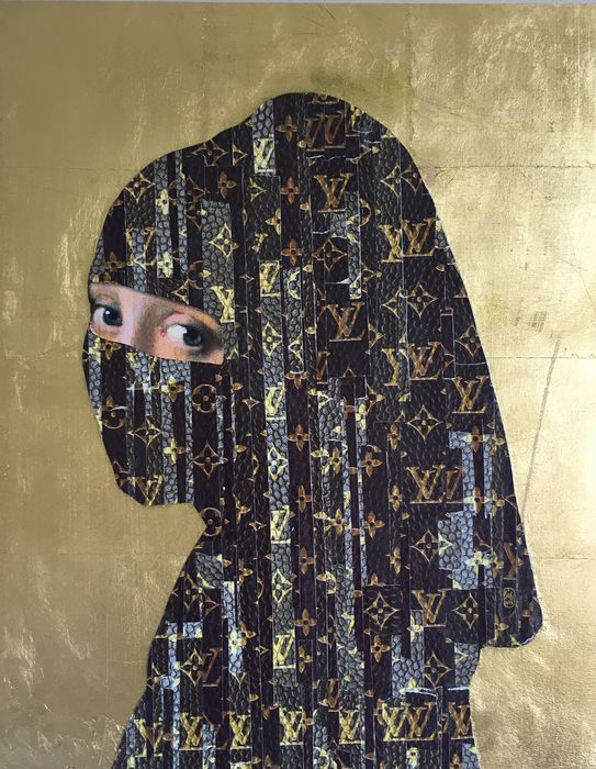SiG Martín Sigwald The MagicArtist® - The Young of Vuitton Niqab 24k