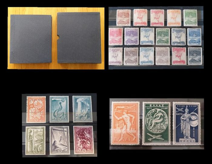 Griechenland 1861/1995 - Stamp Collection, with Airmail and Miniature sheets