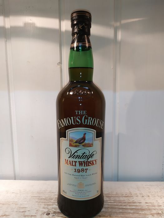 Famous Grouse 1987 12 years old Malt - 70cl
