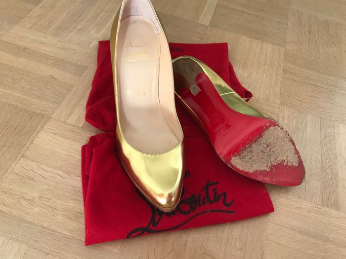 Christian Louboutin - Pumps Loafers - Size: FR 39