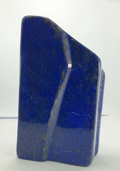 AAA Grade Lapis Lazuli with Pyrite Polished Freeform Tumbled - 215×118×66 mm - 3880 g