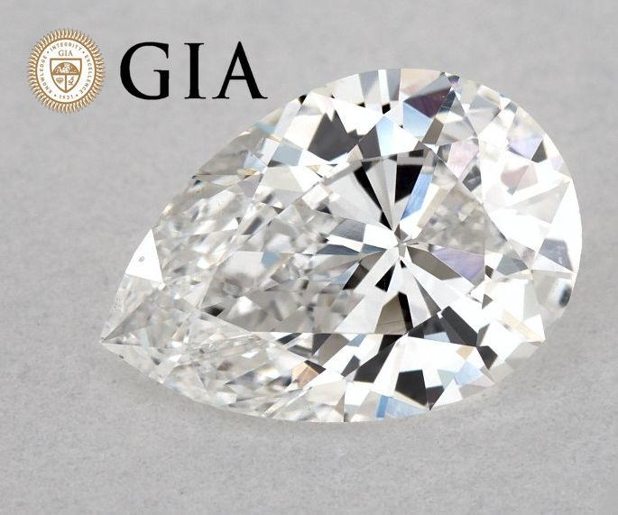 Diamant - 0.98 ct - Peer - F - SI1