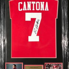 Manchester United - Champions Football League - Eric Cantona - Jersey