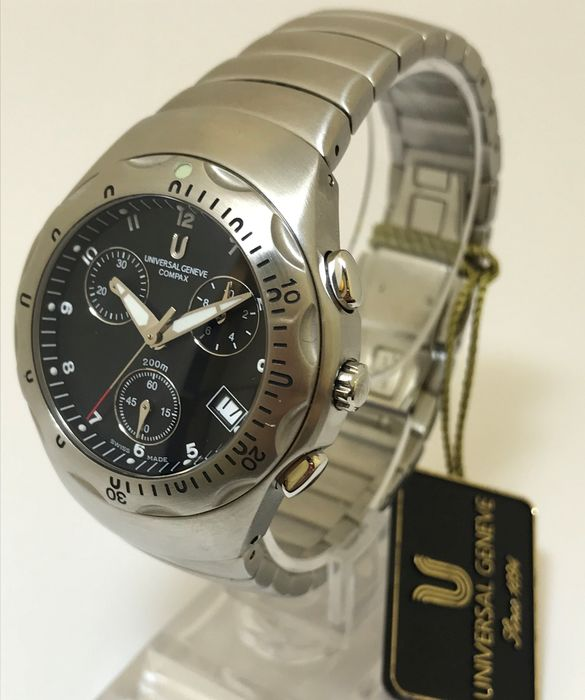"""Universal Genève - Compax Chronograph """"New Old Stock"""" - 853.830 - Hombre - 1990-1999"""