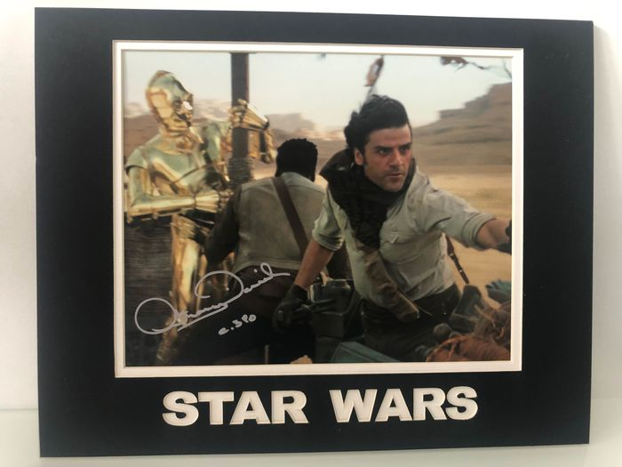 Star Wars - Anthony Daniels - Autograph, Photogrph C-3PO - Mounted, Signed with COA