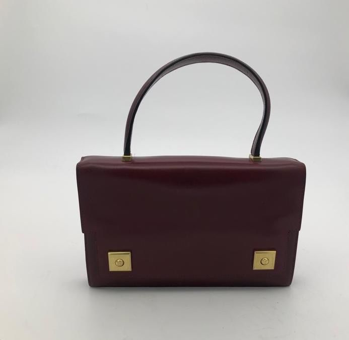 Hermès - Piano Bordeaux Box Handtasche