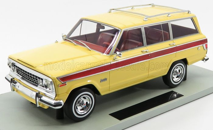 LS Collectibles Europe - 1:18 - Jeep USA - Grand Wagoneer