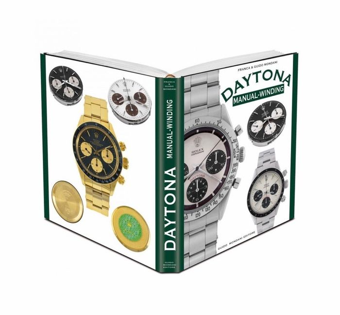 Preview of the first image of Rolex - Daytona Manual winding book by Guido Mondani - Unisex - 2011-present.