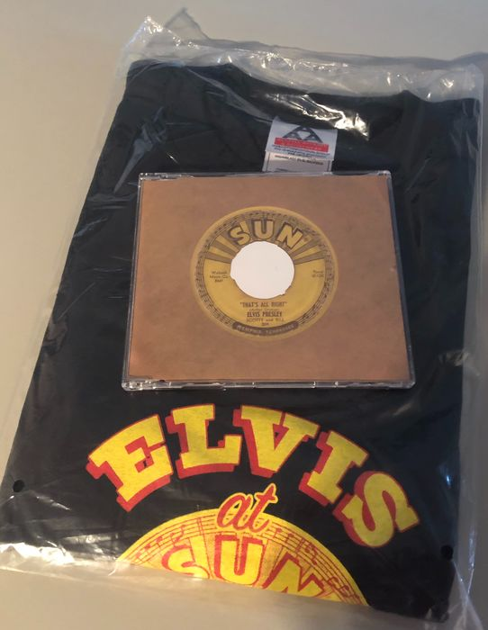 Elvis Presley - That's All Right Mama (promo CD & promo T-shirt) - CD - 2004/2004